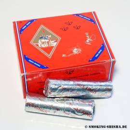 Three Kings Shisha Kohle selbstzündend (40 mm, Box mit 100 Stck.)