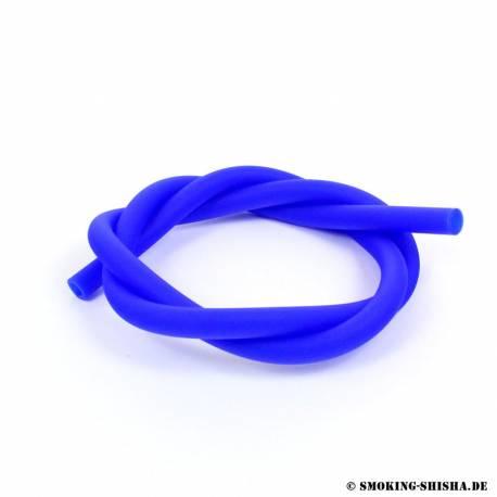 Silikonschlauch Soft Touch, mattblau