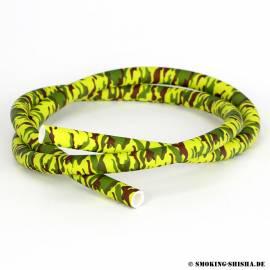 Kaya Silikonschlauch ''Camouflage'', gelb