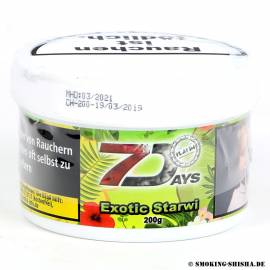 7 Days Platin Tabak Exotic Starwi, 200g
