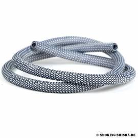 Silikonschlauch Nylon Frame Schwarz/Weiß