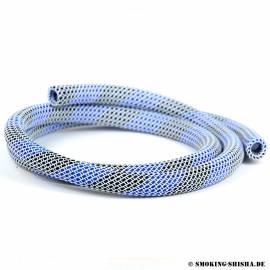 Silikonschlauch Nylon Frame Blau/Schwarz