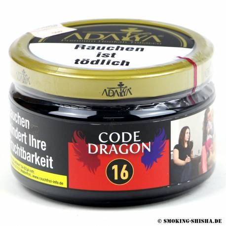 Adalya Tabak Code Dragon, 200g