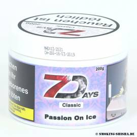 7 Days Classic Tabak Passion on Ice, 200g