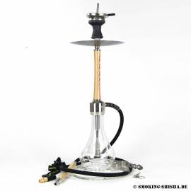 Alligator Shisha Professional White