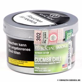 Social Smoke Cucumber Chill, 200g