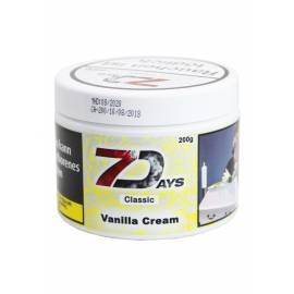 7 Days Classic Tabak Vanilla Cream, 200g