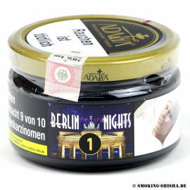 Adalya Tabak Berlin Nights, 200g