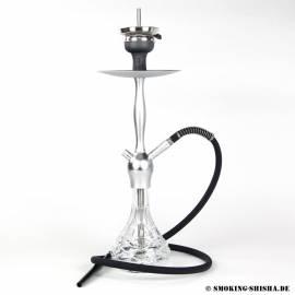 Aladin Shisha Alux Admiral Silver