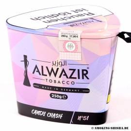 Al Wazir Tabak Candy Crash 250g